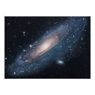 M31 Galaxy in Andromeda Poster