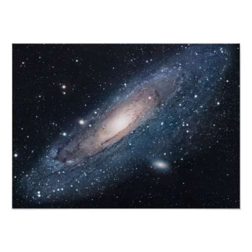 M31 Galaxy in Andromeda Print