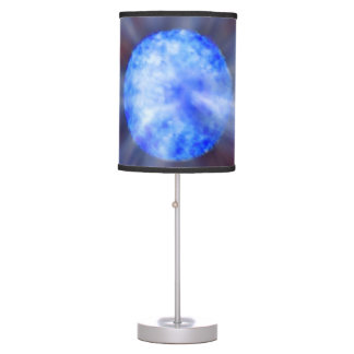M33 Black hole in space Desk Lamp