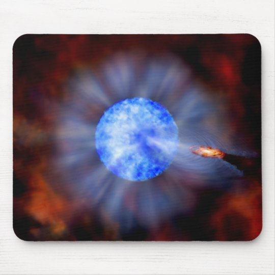 M33 Black hole in space Mouse Pad
