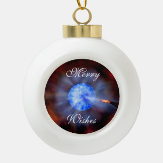 M33 Black hole in space Ornaments