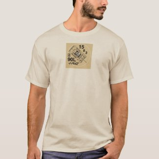 M36 Jackson Tank Destroyer, ASL AFV counter tshirt