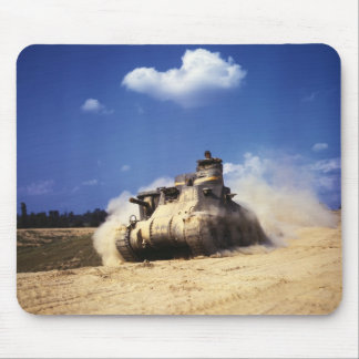 M3 Lee Tank in Training Exercises at Fort Knox Mouse Pad