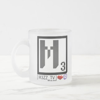 M3ZZ_TV Social Logo Glass Mug