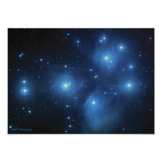 M45 the Pleiades Poster