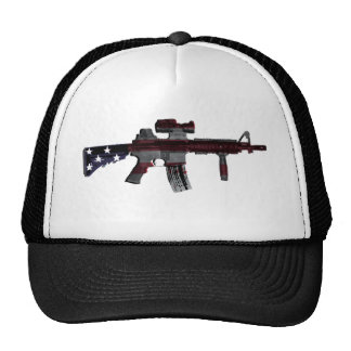 M4 americano gorros bordados