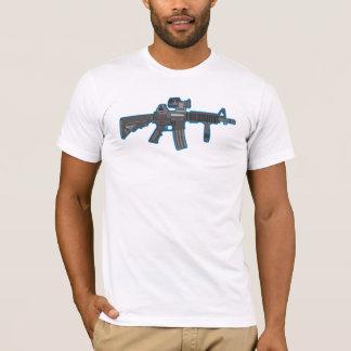 M4 Carbine Assault Rifle Scope Grip Shirt