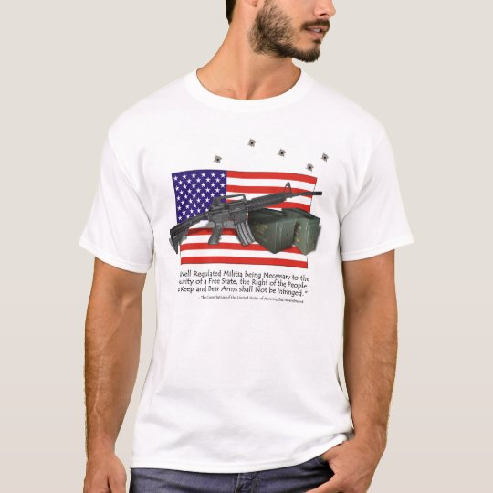 M4 Carbine, Support our 2nd Amendment T-Shirt