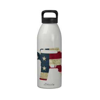 M4 CLASSIC BLACK.png Drinking Bottle