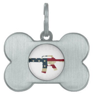 M4 CLASSIC WHITE.png Pet Tag
