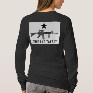 M4 Come And Take It - Womens Dark T-Shirt