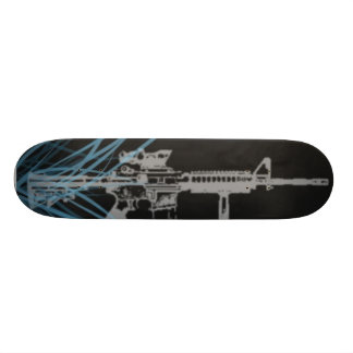M4 lights skateboard deck