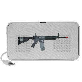 M4/M16 assault rifle Travelling Speakers