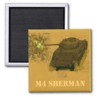 M4 SHERMAN IMÁN CUADRADO