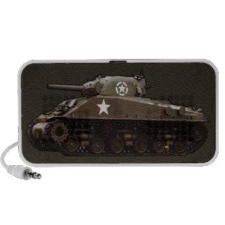 M4 Sherman iPod Speakers