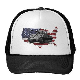 M4 Sherman tank Trucker Hat