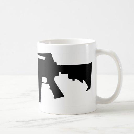 M4 Silhouette Coffee Mugs | Zazzle