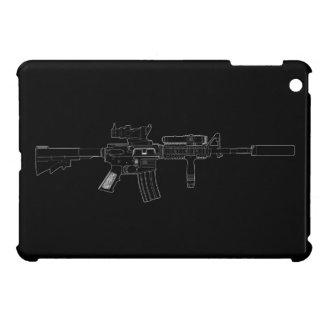M4 SOPMOD Black iPad Mini Cover