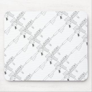 M4 SOPMOD White Tiled Mouse Pad