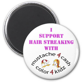 M4C_C4K_08, ISupport Hair Streaking Refrigerator Magnets