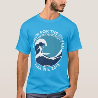 M4O Blue Surfer Shirt
