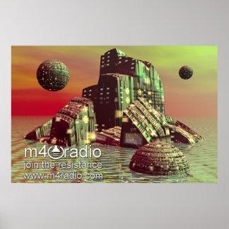 M4Radio Starship Poster