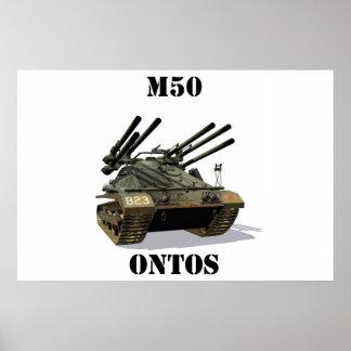 M50 Ontos Poster