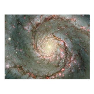 M51 Cosmic Whirpool Postcard