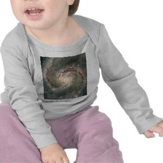 M51 Infant Long Sleeve T-shirt - Spiral Galaxy