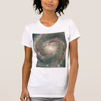 M51 Ladies Sheer V-Neck (Fitted) Astronomy gift T-shirts