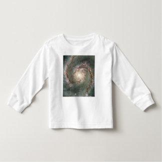 M51 Toddler Long Sleeve T-Shirt - Spiral Galaxy