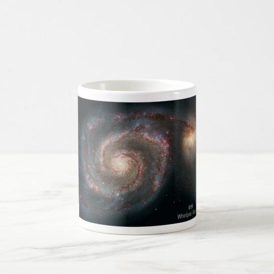 M51 Whirlpool and companion galaxies Coffee Mug