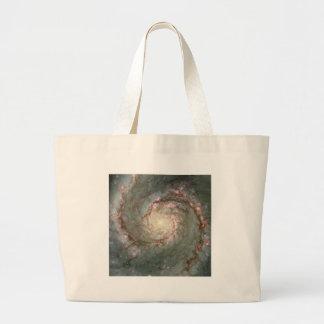 M51 Whirlpool Galaxy Astronomy Beach Bag