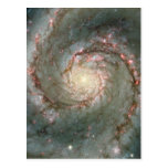 M51 Whirlpool Galaxy Postcard Science gift
