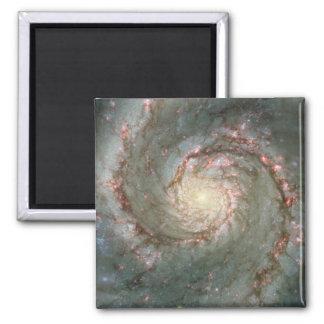 "M51 Whirlpool Spiral Galaxy 2"" Magnet"