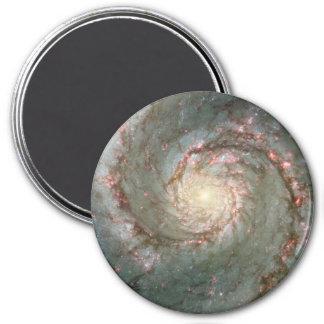 "M51 Whirlpool Spiral Galaxy 3"" Magnet"