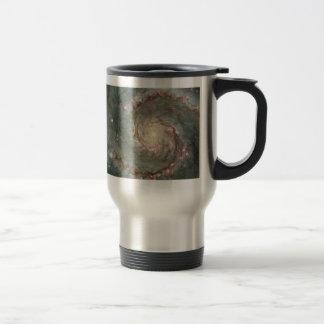 M51 Whirlpool Spiral Galaxy Stainless Mug