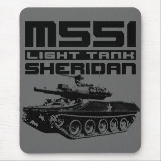 M551 Sheridan Mouse Pad