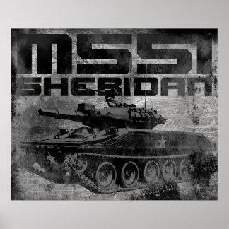 M551 Sheridan Poster
