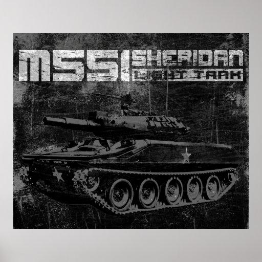 M551 Sheridan Póster