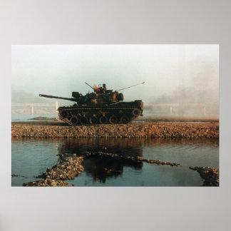 M60 Patton Main Battle Tank Poster