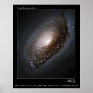 M65 'Black Eye Galaxy' Posters