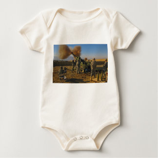 M777 Light Towed Howitzer Afghanistan 2009 Baby Bodysuit
