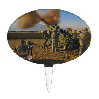 M777 Light Towed Howitzer Afghanistan 2009 Cake Topper