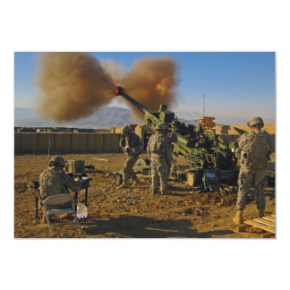 M777 Light Towed Howitzer Afghanistan 2009 Card
