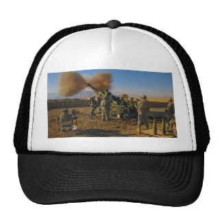 M777 Light Towed Howitzer Afghanistan 2009 Mesh Hats