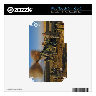 M777 Light Towed Howitzer Afghanistan 2009 iPod Touch 4G Skin