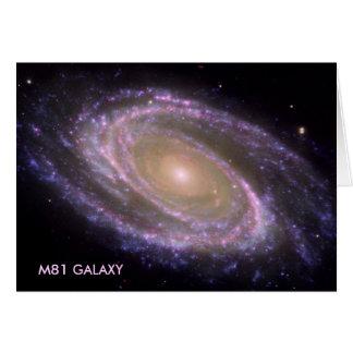 M81 GALAXY CARD