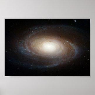 M81 Galaxy in Ursa Major Poster