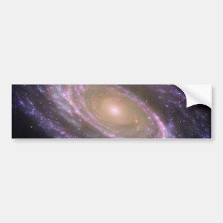 M81 Galaxy is Pretty in Pink Bumper Sticker